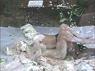 Creamy Lesbian Bondage